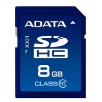 Secure Digital Card SDHC 8GB class10 ADATA (ASDH8GUICL10-R)