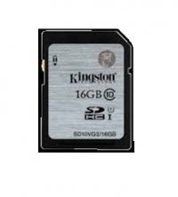 SECURE DIGITAL CARD  SDHC 16G (class10)  KINGSTON (SD10VG2/16GB)