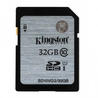 SECURE DIGITAL CARD  SDHC 32G (class10)  KINGSTON (SD10VG2/32GB )