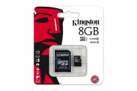SECURE DIGITAL CARD MICRO 8G KINGSTON CLASS10 (SDC10G2/8GB)