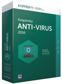 Kaspersky Anti-Virus 2016, 1 PC, 1 an, Electronic, New license