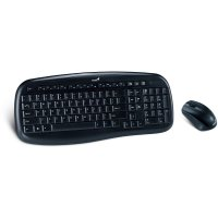 Kit tastatura + mouse wireless Genius KB-8000X, 2.4Ghz, 1200dpi optical mouse, USB, negru