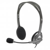 Casti stereo Headset cu microfon Logitech H111