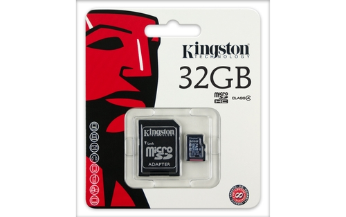 SECURE DIGITAL CARD MICRO. 32G KINGSTON (class10) (SDC10G2/32GB)