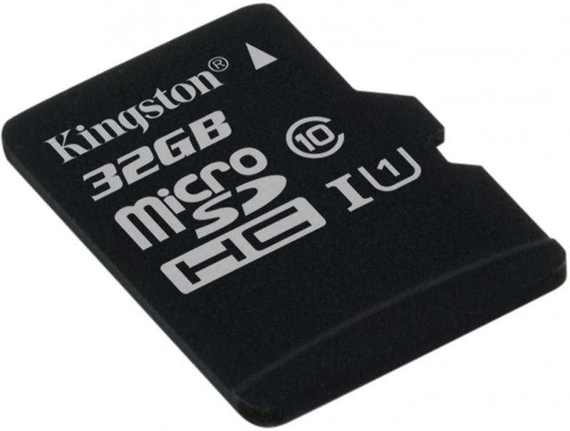 SECURE DIGITAL CARD MICRO. 32G KINGSTON (class10) (SDC10G2/32GBSP)