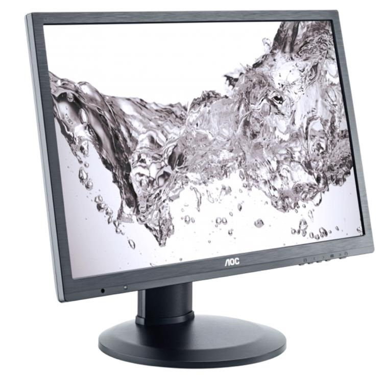 MONITOR AOC 23' LED, 1920x1080, 5ms, 250cd/mp, vga+dvi+display port (I2360PQ/BK)