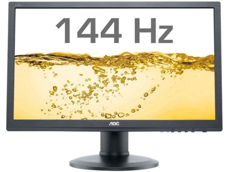 MONITOR AOC 24' LED, 1920x1080, mai putin de 1ms, 350cd/mp, vga+dvi+hdmi+display port (G2460FQ)