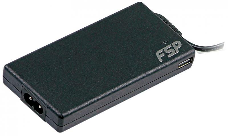 ALIMENTATOR FORTRON NB. retea, universal, 90W - compatibil marea majoritate a NB, tensiuni AC/19VDC, port USB, 8 tipuri conectori (FSP-NB LITE 90 PLUS)