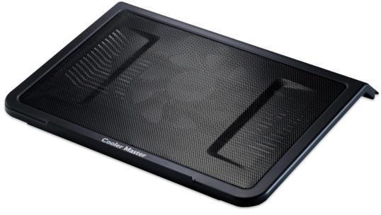 Stand notebook COOLER MASTER 17'. - NOTEPAL L1, 1* fan 160mm, 1* USB, plastic & metal, black (R9-NBC-NPL1-GP)