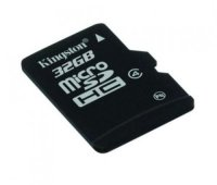 Secure Digital Card micro SDHC 32GB class 4 KINGSTON (SDC4/32GB)