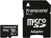 SECURE DIGITAL CARD MICRO SDXC 64GB (Class 10), UHS-I, 300x TRANSCEND (TS64GUSDU1)
