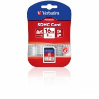 SECURE DIGITAL CARD SDHC 16GB (Class 10) Verbatim (43962)