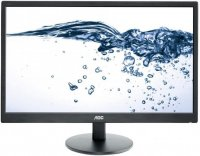 MONITOR AOC 23.6' LED, 1920x1080, 5ms, 250cd/mp, vga+dvi (E2470SWDA)
