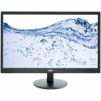 MONITOR AOC 23.6' LED, 1920x1080, 5ms, 250cd/mp, vga+hdmix2 (E2470SWHE)