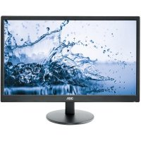MONITOR AOC 24' LED, 1920x1080, mai putin de 1ms, 250cd/mp, vga+dvi+hdmi (E2460SH)