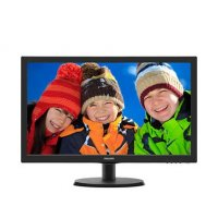 Monitor LED TN Philips 21.5', Wide, Full HD, HDMI, Negru (223V5LHSB2/00)