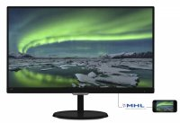 MONITOR PHILIPS 23' LED, 1920x1080, 5ms, 250cd/mp, vga+DVI-D+hdmi-mhl (237E7QDSB/00)
