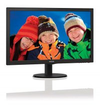 MONITOR PHILIPS 23.6' LED, 1920x1080, 1ms, 250cd/mp, vga+dvi-d+hdmi (243V5LHSB/00)