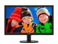 MONITOR PHILIPS 23.6' LED, 1920x1080, 5ms, 250cd/mp, vga+ dvi-d (243V5LSB/00)