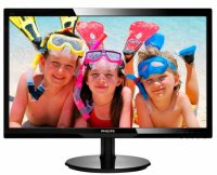MONITOR PHILIPS 24' LED, 1920x1080, 5ms, 300cd/mp, vga+dvi-d (246V5LSB/00)