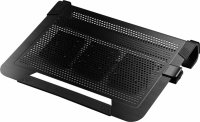 Stand notebook COOLER MASTER NOTEPAL U3 PLUS, 19', aluminiu, 3x ventilatoare 80mm, Black (R9-NBC-U3PK-GP)