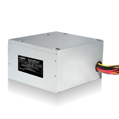 Sursa de alimentare SPIRE Jewel (SP-ATX-420W-C1-PFC), putere 420W, ventilator de 120mm, conectori: 2x S-ATA, 2x MOLEX 4-pin, 1x FDD, 1x 20+4-pin, 1x CPU 4-pin, zgomot 21dB, cu PFC si rail 12V