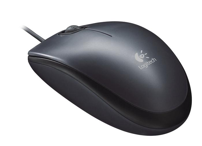 Mouse Optic USB Logitech M90 1000dpi, Black (910-001794)