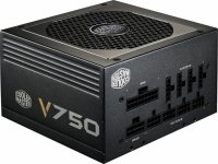 SURSA COOLER MASTER.  V750 v2, 750W (real), fan 120mm, 80 Plus Gold, 4x PCI-E (6+2), 8x S-ATA, semi-modulara (RS750-AFBAG1-EU)
