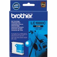 Cartus cerneala Original Brother Cyan, compatibil DCP-130C/330C/540CN, 400pag (LC1000C)