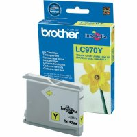 Cartus cerneala Original Brother Yellow LC970Y compatibil MFC235C/260C DCP135C/150C, 300 pag. (LC970Y)