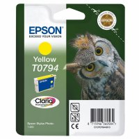 Cartus cerneala  Original Epson Photo Yellow C13T07944010 compatibil  Stylus Photo 1400 (C13T07944010)