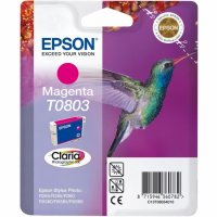 Cartus cerneala  Original Epson Photo Magenta C13T08034011 compatibil  Stylus Photo R265/360,RX562 (C13T08034011)