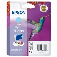 Cartus cerneala  Original Epson Photo Cyan C13T08054011 compatibil  Stylus Photo R265/360,RX563 (C13T08054011)