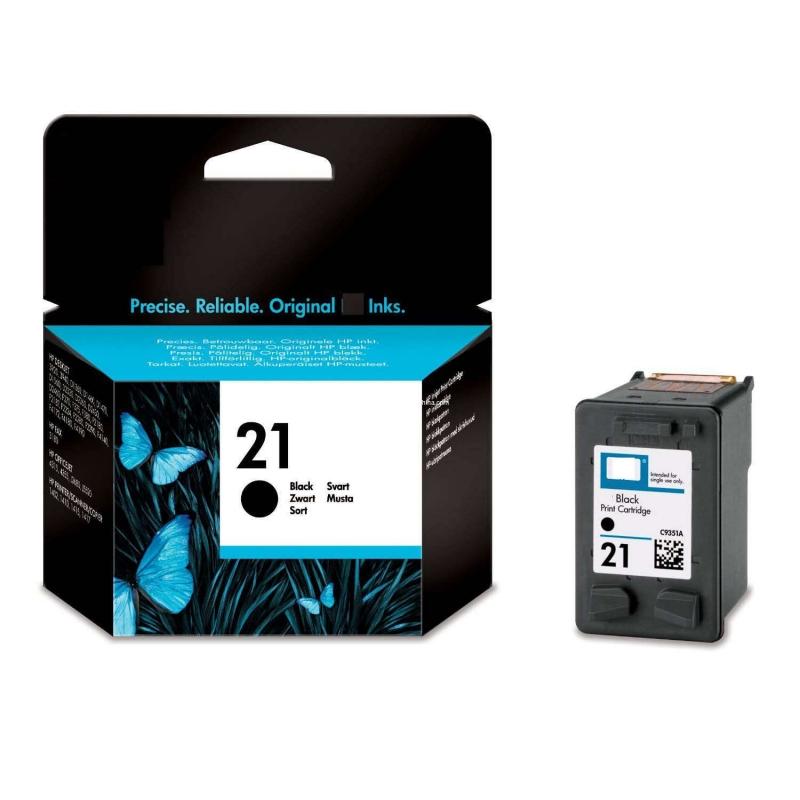 Cartus cerneala Original HP Black 21, compatibil DJ3920/3940/D1360/14xx/F2180/2275/22xx, 10ml (C9351AE)