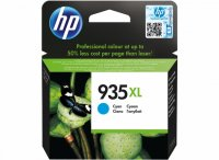Cartus cerneala Original HP Cyan 935XL, compatibil OfficeJet Pro 6830, 825pag (C2P24AE)