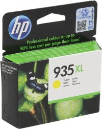 Cartus cerneala Original HP Yellow 935XL, compatibil OfficeJet Pro 6830, 825pag (C2P26AE)
