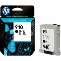 Cartus cerneala Original HP Black 940, compatibil OfficeJet Pro 8000/8500, 420pag (C4902AE)