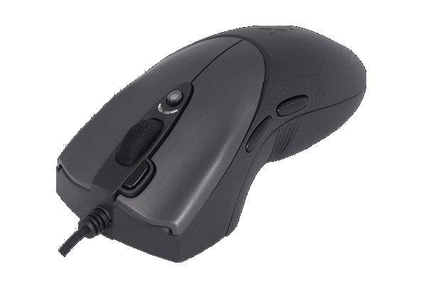 Mouse optic USB A4TECH X7 Oscar Black (X-738K), wired cu 7 butoane si 1 rotita scroll, rezolutie selectabila peste 2000dpi, Full Speed 1000Hz