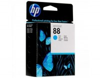 Cartus cerneala Original HP Cyan 88 w.Vivera ink, compatibil OfficeJet K5300/5400/550/L7xxx/Pro K5300/5400/550, 10ml (C9386AE)