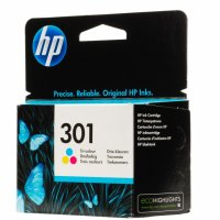 Cartus cerneala Original HP Tri-color 301 w.Vivera ink, compatibil DJ1000/1050/1055/2050/3050, 165pag (CH562EE)
