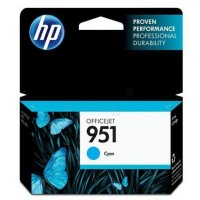 Cartus cerneala Original HP Cyan 951, compatibil OfficeJet Pro 251/276/8100/8600, 700pag (CN050AE)