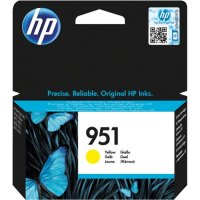 Cartus cerneala Original HP Yellow 951, compatibil OfficeJet Pro 251/276/8100/8600, 700pag (CN052AE)