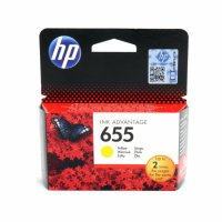 Cartus cerneala Original HP Yellow 655, compatibil DJ3525/4615/4625/5525/6525, 600pag (CZ112AE)