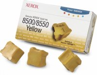 Cartus cerneala Original Xerox Yellow, compatibil Phaser 8500/8550, 3 sticks, 3000 pag (108R00671)