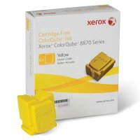 Cartus cerneala Original Xerox Yellow, compatibil ColorQube 8870, 6 sticks, 17300 pag (108R00960)