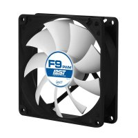 FAN FOR CASE ARCTIC   'F9 PWM PST' 92x92x25 mm, w/ PWM & cablu PST, low noise FD bearing (AFACO-090P0-GBA01)