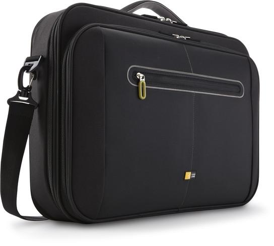 Geanta laptop nylon 18' Case Logic, Slim, black/green (PNC218)