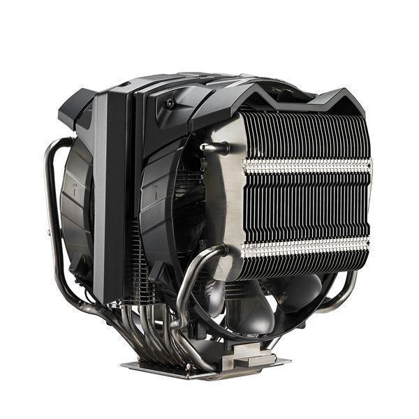 COOLER CPU COOLER MASTER V8 v2, universal, soc. LGA 2011-3/2011/1366/115x/775/FMx/AMx/, Al-Cu, 8* heatpipe HVC, 250W (RR-V8VC-16PR-R2)