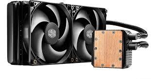 COOLER CPU LICHID COOLER MASTER   Seidon 240V, universal, soc. LGA 2011(3)/1366/115x/775/FMx/AMx, radiator 273x27 mm, 2x Silencio FP 120mm (160K ore), 800~2400 RPM 'RL-S24V-24PK-R1'