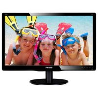 MONITOR PHILIPS 19.5' LED, 1920x1080, 8ms, vga+DVI (200V4QSBR/00)